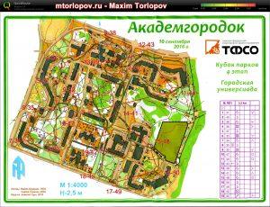 Route - Maxim Torlopov